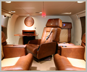 Helicopter Interior - Corporate Jet Charter